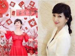 63岁赵雅芝晒照和粉丝拜年 美腿修长白皙保养得宜