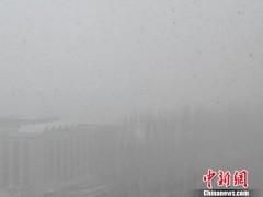 """内蒙古持续降雪""""穿越""""回冬天 多条高速公路交通管制"""