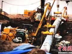中国最大管径天然气管道定向穿越纪录被刷新